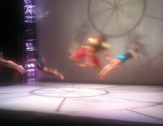 The STREB dancers in action, 12/22/12